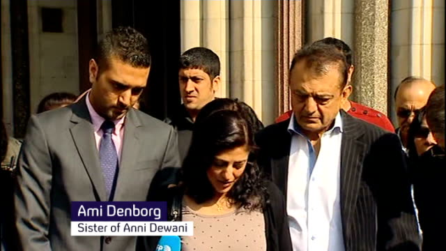 Shrien Dewani wins appeal against extradition ENGLAND London EXT Ami Denborg statement outside court SOT lot of delays painful for us / want the...
