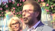 Anni Frid Lyngstad Agnetha Faltskog Bjorn Ulvaeus and Benny Andersson the four members of of Swedish 1970s pop phenomenon ABBA attend the opening of...