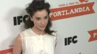 Annie Clark at PORTLANDIA Screening Hosted by IFC Red Carpet New York NY United States 1/5/2012