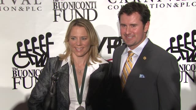 Annika Sorenstam and Mike McGee at the 25th Great Sports Legends Dinner To Benefit The Buoniconti Fund at New York NY