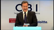 David Cameron speech Cameron speech SOT And we will abolish all tax on the first ten jobs new businesses create during the first two years of a...