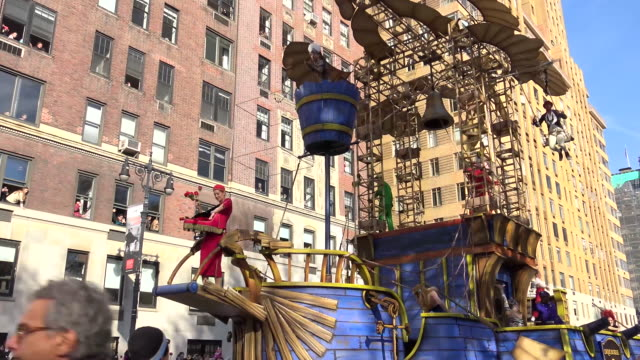 Annual Macy's Thanksgiving Day Parade via Manhattan New York City USA