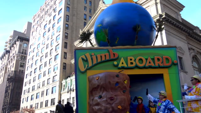 Annual Macy's Thanksgiving Day Parade via Manhattan New York City USA / A World at Sea Climb Aboard Soaring at Sea