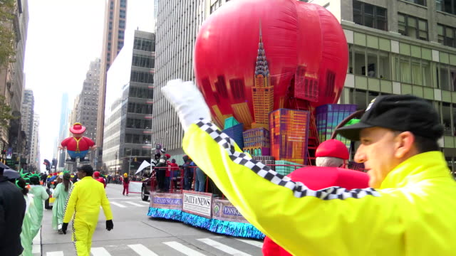 Annual Macy's Thanksgiving Day Parade via Manhattan New York City USA / Daily News floater