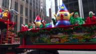 Annual Macy's Thanksgiving Day Parade via Manhattan New York City USA / Charlie Elf Kit Elf and CJ Elf