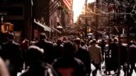 Anonyme Menschenmenge gehen.
