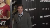 Anson Mount at 'Mr Right' New York Premiere at AMC Lincoln Square Theater on April 06 2016 in New York City