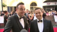 INTERVIEW Ant Dec on being nominated and having such busy lives and future plans for Saturday Night takeaway at The Royal Opera House on May 18 2014...