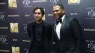 Anthony Anderson and Kunal Nayyar at Art Directors Guild 20th Annual Excellence In Production Design Awards at The Beverly Hilton Hotel on January 31...