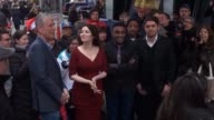 Anthony Bourdain Nigella Lawson Marcus Samuelsson and Ludo Lefebvre outside the set of the Good Morning America show in Celebrity Sightings in New...