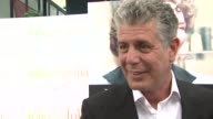Anthony Bourdain on Julia Child as an influence as TV host and cook at the 'Julie Julia' Premiere at New York NY
