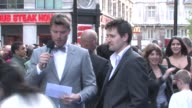 Anthony Costa at the Night At The Museum 2 World Premiere at London England