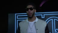 INTERVIEW Anthony Davis on coming to the GQ party at GQ NIKE Celebrate NBA AllStar Weekend at Ogden Museum Of Southern Art on February 18 2017 in New...