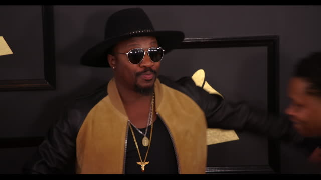 Anthony Hamilton at the 59th Annual Grammy Awards Arrivals at Staples Center on February 12 2017 in Los Angeles California 4K