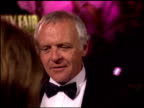 Anthony Hopkins at the 1996 Academy Awards Vanity Fair Party at Morton's in West Hollywood California on March 25 1996