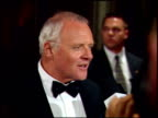 Anthony Hopkins at the 1999 Academy Awards Miramax Party at the Beverly Hilton in Beverly Hills California on March 31 1999