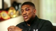 Anthony Joshua beats Wladimir Klitschko Anthony Joshua beats Wladimir Klitschko London Anthony Joshua interview SOT want to celebrate and get back to...