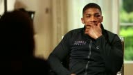 Anthony Joshua beats Wladimir Klitschko Anthony Joshua beats Wladimir Klitschko London Anthony Joshua interview SOT I know where I've got to improve