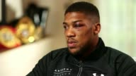 Anthony Joshua beats Wladimir Klitschko Anthony Joshua beats Wladimir Klitschko London Anthony Joshua interview SOT spoke to his mother and son after...