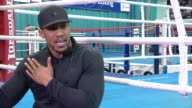 Anthony Joshua discussing the injuries that he's sustained in his career and his training preparation leading up to his fight with Klitschko at...