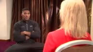 Anthony Joshua interview Anthony Joshua interview cutaways