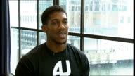 Anthony Joshua makes professional debut Joshua interview SOT Reporter to camera Joshua interview SOT