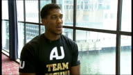 Anthony Joshua makes professional debut Joshua interview SOT