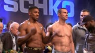 Anthony Joshua prepares for fight against Wladimir Klitschko Anthony Joshua prepares for fight against Wladimir Klitschko ENGLAND London Wembley INT...