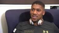 Anthony Joshua prepares for fight against Wladimir Klitschko Anthony Joshua prepares for fight against Wladimir Klitschko Anthony Joshua interview SOT