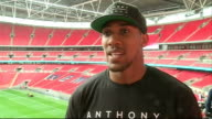 Press conference and interview Anthony Joshua interview SOT