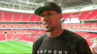 Press conference and interview Anthony Joshua interview continued SOT / James De Gale interview SOT