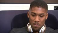 Joshua prepares for contest Anthony Joshua v Wladimir Klitschko Joshua prepares for contest ITN Reporter sitting with Joshua Anthony Joshua interview...