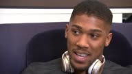 Joshua prepares for contest Anthony Joshua v Wladimir Klitschko Joshua prepares for contest Reporter sat with Joshua Joshua interview SOT