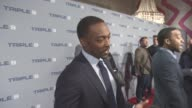 Anthony Mackie at 'Triple 9' UK gala screening on February 09 2016 in London England
