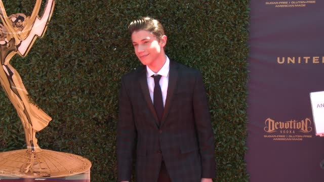 Anthony Turpel at the 44th Annual Daytime Emmy Awards at Pasadena Civic Auditorium on April 30 2017 in Pasadena California