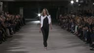 Anthony Vaccarello Paris Fashion Week S/S 2013 on September 25 2012 in Paris France