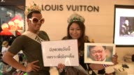 Antigovernment protesters rally across Bangkok when protesters blocked many intersections stopping traffic to hold rallies The 2013–14 Thai political...