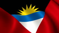 Antigua and Barbuda Flag Loopable