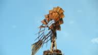 Antique Farm Windmill
