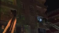 Antiterror police forces raid the offices of 'Yuruyus' magazine in Sultangazi district of Istanbul Turkey on April 26 2017