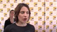 Antje Traue on her role in the movie at the ComicCon 2009 'Pandorum' Press Line at San Diego CA