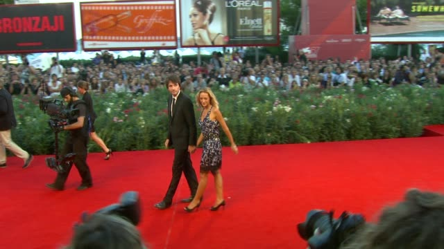 Antoine Arnault Helene De Fougerolles at the Potiche Premiere 67th Venice Film Festival at Venice
