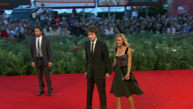 Antoine Arnault Helene de Fougerolles at the Somewhere Premiere 67th Venice Film Festival at Venice