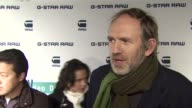 Anton Corbijn on GStar Raw being the bad boys at GStar Rodeo Drive Opening on 12/6/11 in Beverly Hills CA