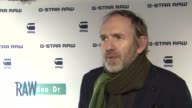 Anton Corbijn on his favorite memory of working with GStar at GStar Rodeo Drive Opening on 12/6/11 in Beverly Hills CA