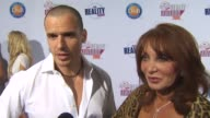 Antonia Sabato Jr and his mother Yvonne on his show 'My Antonio' at the 2009 Fox Reality Channel Really Awards at Los Angeles CA