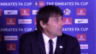 Antonio Conte and Jose Mourinho had to be separated as N'Golo Kante's strike sent Chelsea into the FA Cup semifinals with a 10 win over Manchester...
