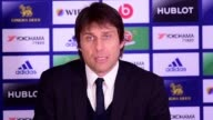 Antonio Conte says that he is satisfied with Chelsea's performace and that they played very well and created many opporunities He also praises...