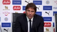 Antonio Conte speaks after beating Leicester 21 calling it a good day for the team He would not speak about a song Chelsea fans sung which has been...