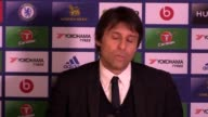 Antonio Conte talks about the title race how it is important to keep focus and fighting as there are still plenty of points to play for He speaks...